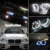 4 Pçs/set LED Branco CCFL Angel Eyes faróis para BMW X5 (E53) angel eyes kits # FD-3899
