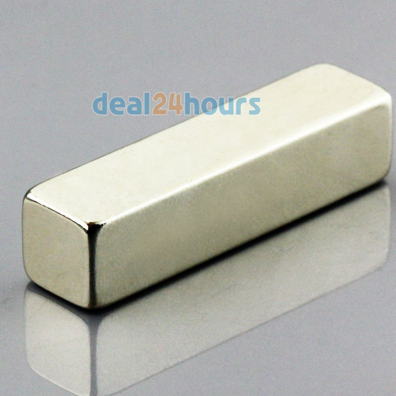 OMO Magnetics 1PC Big N50 Bulk Super Strong Strip Block Bar Magnets Rare Earth Neodymium 40 x 10 x 10 mm omo magnetics 10pcs big bulk super strong cuboid block magnets rare earth neodymium 50 x 50 x 5 mm n35 wholesale