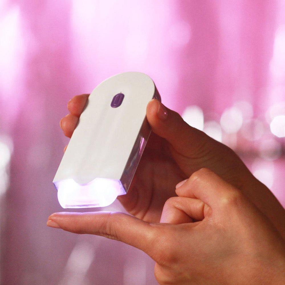 Oplaadbare Laser Hair Removal Tools Gezicht Lichaam Gezondheidszorg Depilator Lichtgewicht Hair Remover Batterij-Aangedreven vrouwen Epilator