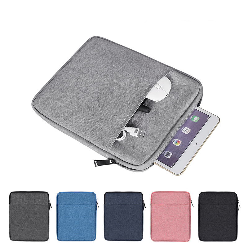 Multi-functional A4 Document Bags Shockproof Handbag Sleeve Case Waterproof Nylon Bag For Notebooks Pens IPad Computer Briefcase