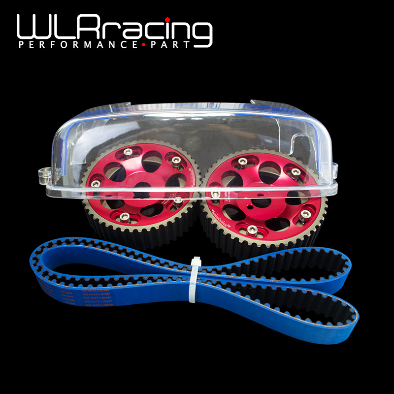 WLRING- HNBR Racing Timing Belt+Aluminum Cam Gear+Cam Cover FOR 2JZ-GE and 2JZ-GTE Supra,GS300,IS300 WLR-TB1006B+6531R+6332 supra is 2602c