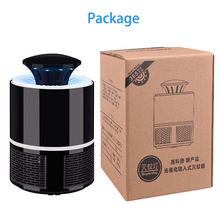 USB Mosquito Killer Lamp LED Safety Bug Zapper Indoor Silent Mosquito Trap Outdoor Insect Killer Home Backyard Garden Repellent