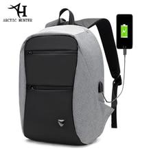 ARCTIC HUNTER 15.6inch USB Waterproof Anti Theft Laptop Men's bag Sport Travel Business Notebook Male Backpack Schoolbag Pack