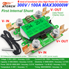 ATORCH Accurate Energy Meter Voltage Current Power 300 100A AC Voltmeter Ammeter Greem Backlight Overload Alarm