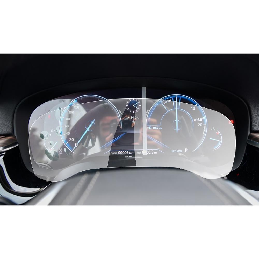 Protetor de tela para BMW 5 RUIYA Série G30/6 Série G32/7 Série G11 LCD tela do painel de instrumentos, 9H vidro temperado película protetora