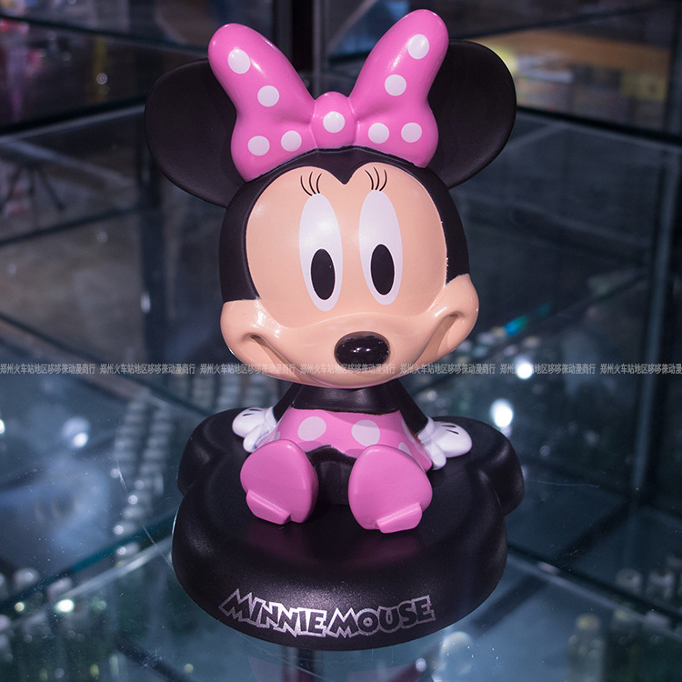 Funny Cute Mickey Mouse Car Nodding Simulation Shakes Head