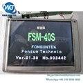 Fujikura FSM-40S FSM-16R FSM-16S FSM-30S Fsm-30R FSM-40S-B FSM-40R FSM-40F FSM-40PM оборудование для Оптоволоконной сварки ЖК-Дисплей