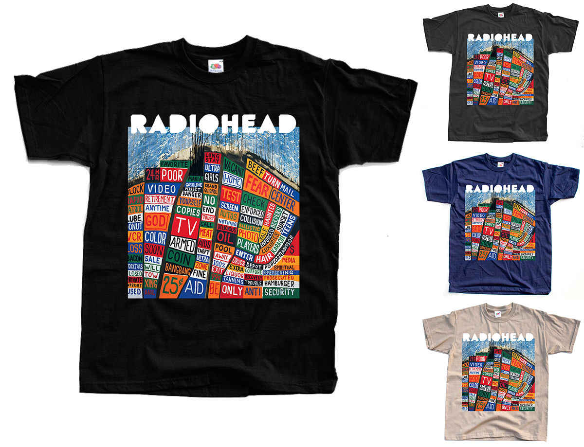 ef97dded Detail Feedback Questions about RADIOHEAD Hail to the Thief T Shirt (Black,  graphite, navym khaki) S 5XLHipster O Neck Cool Tops on Aliexpress.com |  alibaba ...