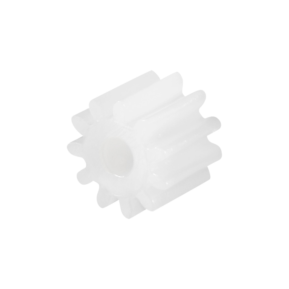 Uxcell 10Pcs 9 11 Teeth 092 112A Plastic Shaft Gear 2mm Hole Diameter 5 x 5 5 5 x 6 5mm Toy Accessories for DIY Car Robot Motor in Gears from Home Improvement
