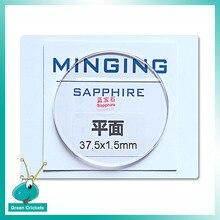 Atacado 2 37 pçs/lote Flat Round Sapphire Vidro De Relógio 1.5mm de espessura mm 37.5mm 38 milímetros 38.5 milímetros Assista Vidro de Safira Cristal