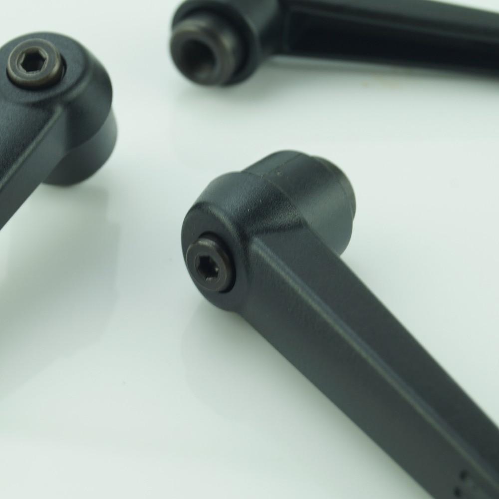 Купить с кэшбэком M8 Female Plastic Clamping lever .Plastic Adustable handle .Lever arms  lever clamp