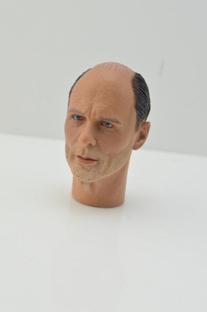 Male Head Sculpt Sniper 1//6 scale toy French Commandos