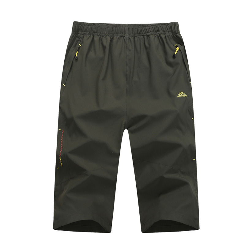 Spring summer Quick-drying pants Men Mountain climbing hiking pants outdoor Moisture absorption perspiration Breathable trousers