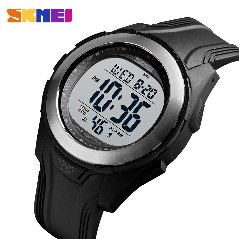 <font><b>SKMEI</b></font> Men's Watches Outdoor Brand Sport Watch Waterproof Alarm Clock Digital Watches Military Wristwatches Relogio Masculino image