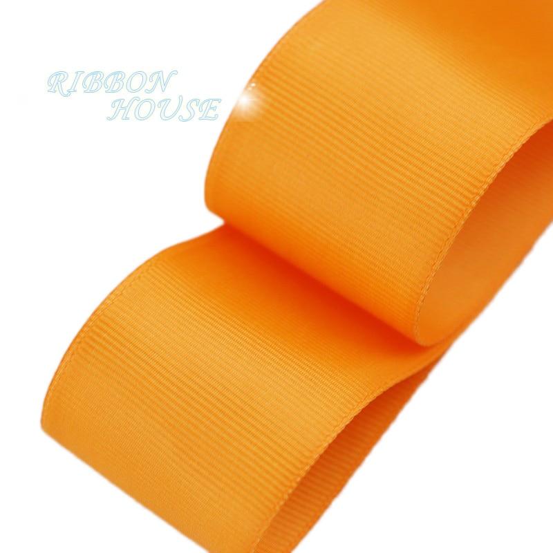 (5 м/лот) 40 мм Оранжевый корсажная лента подарочная упаковка оптом Рождество украшение ленты
