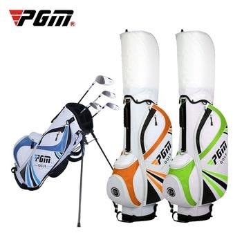 Online Golf bag Golf Set Standard Rack Bag Brand PGM Golf Standard bag with travel Wheels Stand Tripod Caddy cart bag