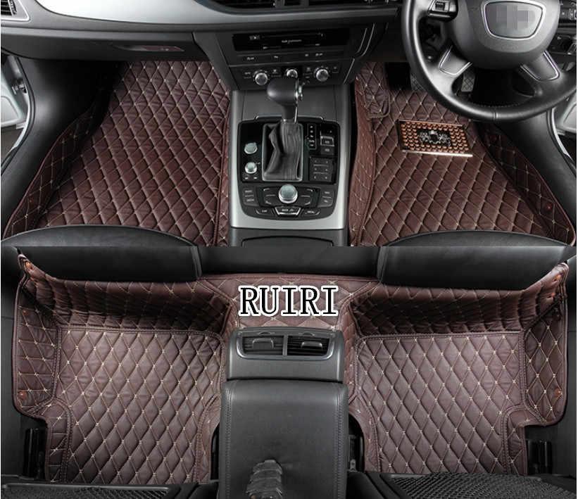 グッドマット! カスタム特別な車のフロアマット右手ドライブ BMW 2 シリーズクーペ 218i 220i 228i F22 2018-2014 防水カーペット