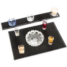 Rubber Service Bar Mat Heavy Duty Home Bar and Rubber Drip Mats Cocktail Bartender Tea Cup Mug Set Waterproof Kitchen Placemat
