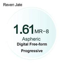Reven Jate MR 8 Digitale A Forma Libera Graduate Progressive Lenti Colorate Lenti Ottico Asferico UV400 Solido e Gradiente Colorato