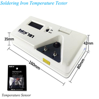 Digital Soldering Iron Thermometer With 2pcs Sensors for Free Temperature Instruments Tester For Soldering Iron BK191