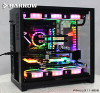 Acrylic Board Water Channel Solution kit use for LIAN LI O11 Dynamic Case / Kit for CPU and GPU Block / Instead reservoir