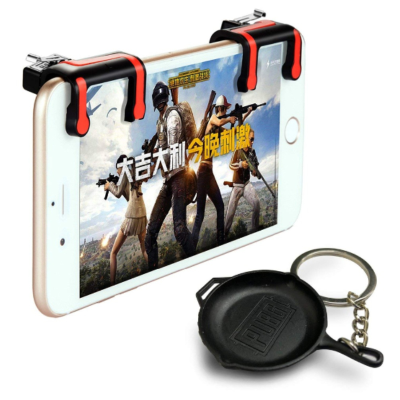 Mobile Phone Game Fire Button Version with PUBG Pan Key