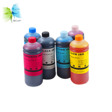 1 set of 6 liters dye ink + 1 chip resetter for Epson PP100 PP100AP PP50 PP100N PP100II inkjet printer