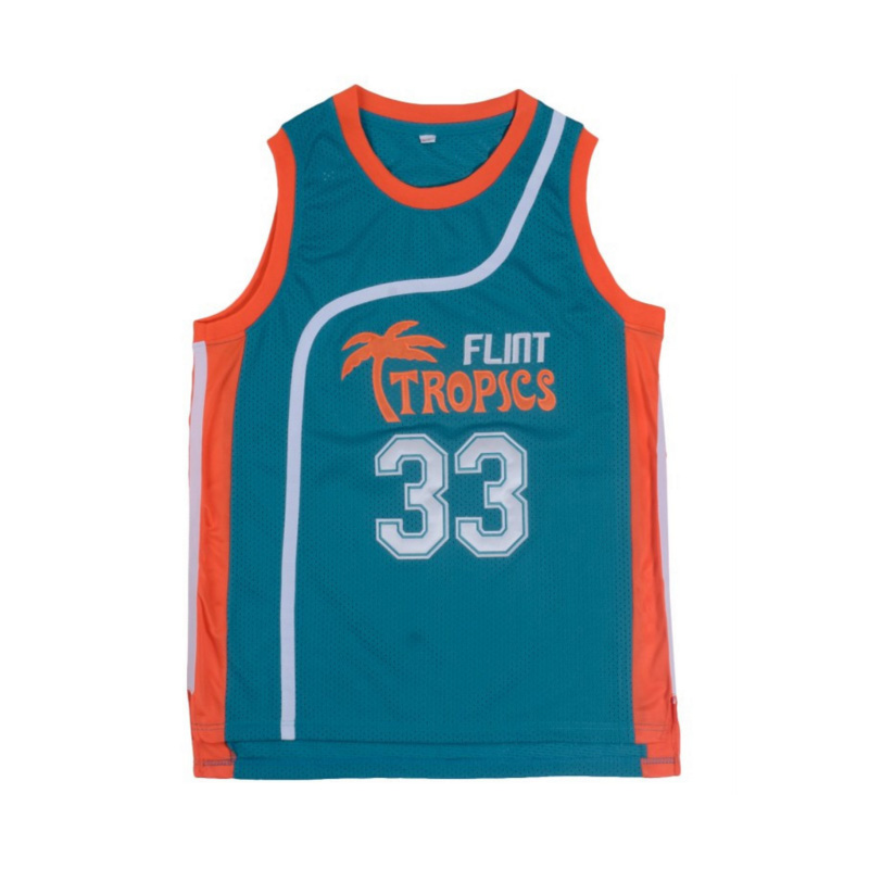 Iverson Mens Basketball Jerseys Flint Tropics Movie Semi Pro  33  11  7 Jackie  Moon Jersey Stitched Sport Vest Basketball Shirts-in Basketball Jerseys  from ... 0680d1a3e