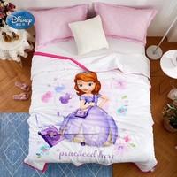 Disney Cartoon Sophia Frozen Mickey Mouse Princess 100% Cotton Boys Grils Summer Quilt Sleeping Covers 200x230cm