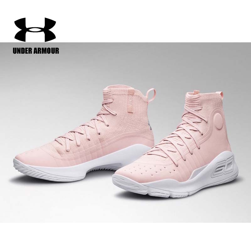 Detail Feedback Questions about Under Armour Women Curry 4 Basketball Shoes  new sock sneakers cushion sports shoes Training Boots Zapatillas Mujer US  5.5 ... 63518473f