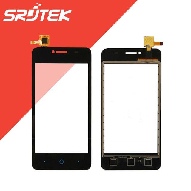 Original para zte blade af3 t221 a5 pro/l2 más l370/q Lux 4G/V2 A450/X5 Digitalizador Pantalla Táctil Sensor de Vidrio Exterior Negro partes