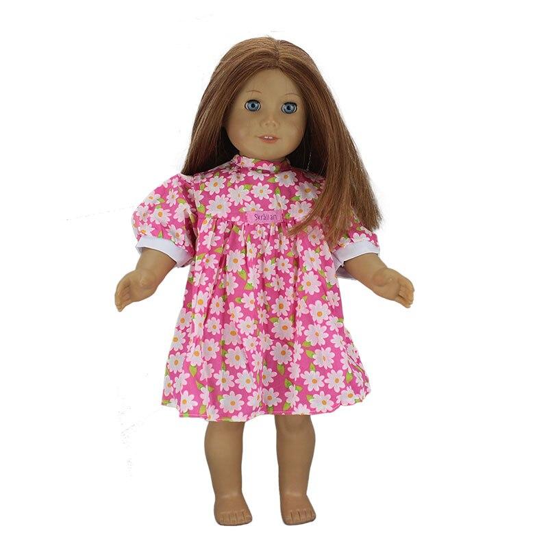 4 стиля джинсовая юбка American Girl Doll зима, 18-дюймов костюм куклы, рождественский подарок для девочки (продаем только одежда) ...