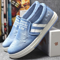 HOT Selling NEW Women Lady Denim Cloth Canvas Trendy Casual Fashion Flat Plimsolls Female Students Low Boards Loafers Shoes G062