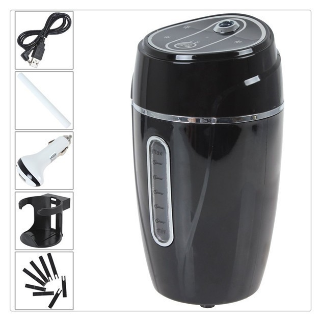 Mini Travel and Car Air Humidifier now with PLUG IN Adapter