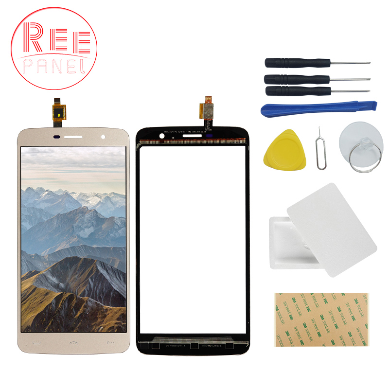 Reepanel A+++ For <font><b>Homtom</b></font> HT17 pro Touch Screen Digitizer Panel Lens Sensor Front Glass TP for <font><b>Homtom</b></font> HT17 HT 17 Pro+Repair tools image