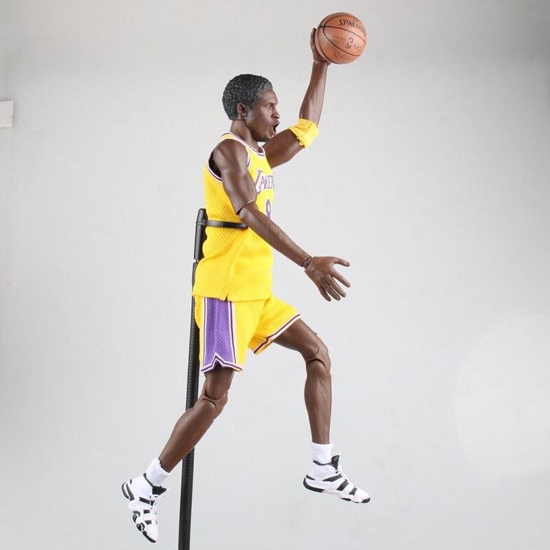 XINDUPLAN Kobe Bryant NBA Lakers 8 MVP ALL Star Game Action Figure Toys 1/6 34cm Large PVC Gift Collection Model 1039 xinduplan new dota 2 garrosh hellscream premium 8 eries platinum big box action figure toys game 19cm pvc collection model 0688