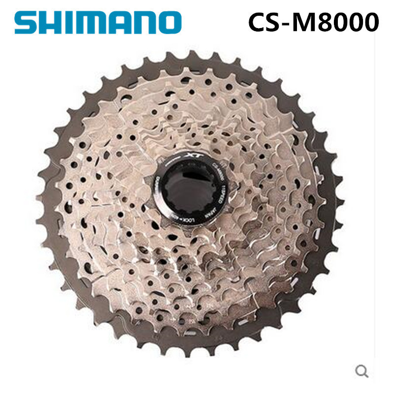 Shimano Deore CS M8000 XT 11S Speeds 11-42T 11-46T MTB Bicycle Bike Cassette Freewheel Mountain Bike цена