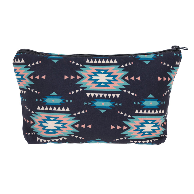Jom Tokoy 3D Printing Makeup Bags With Multicolor Pattern Cute Cosmetics Pouchs For Travel Ladies Pouch Women Cosmetic Bag 26