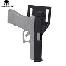 EMERSONGEAR-funda de bloqueo de carga automática para Glock 17 EM6336, funda de liberación rápida para Airsoft IPSC