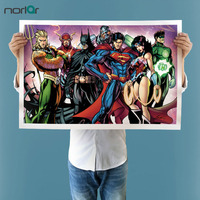 Unframed HD Printed Comics Justice League Cyborg Painting On Canvas For Room Decoration Big Size Print