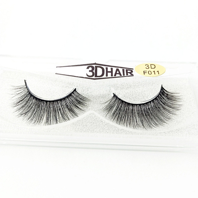 df27e253ffe Fashion Sexy Mink Lashes 3D Mink Eyelashes Invisible Band Natural Black Mink  False Eyelash Full Strip cilios Reusable
