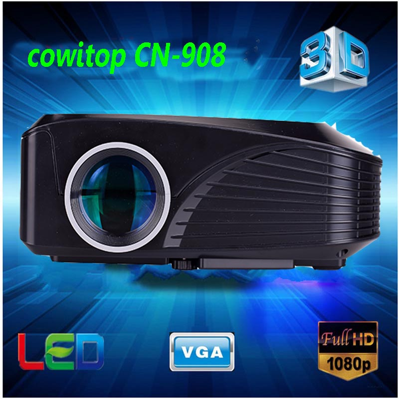 2015 mini projector full hd ready 1080p 1800 lumens with for Best mini projector 2015