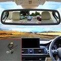"""Авто Парковка Монитор Ночного Видения Заднего Вида CCD Автомобиля Камера Заднего вида + 5 """"Монитор Зеркала Автомобиля Для Renault Megane 3 III 2008 ~ 2015"""