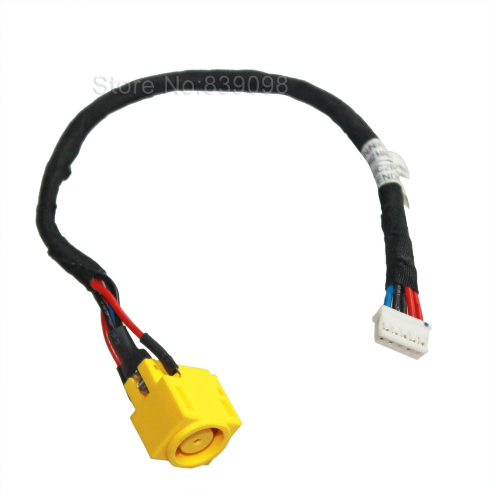 Jintai Dc Ac In Power Jack Cable Harness Connector Socket For Lenovo Thinkpad Edge 14 E40 45m286 Sl410 L410 L412 L420 Plug Port Strong Packing Computer Cables & Connectors