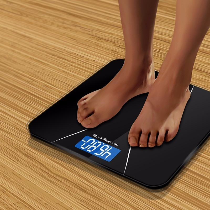A2 Precision Bathroom Scale Body Smart Electronic Digital Weight Home Floor Balance Toughened Glass LCD Display 180kg/50kg|bathroom scale|scales body|bathroom body scales - AliExpress