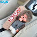 Handy Cute doll Car Handbrake Grips case Handle cover pad Interior supplies Car styling Universal for toyota vw ford bmw audi
