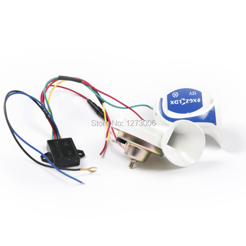 Snail Horn Picture More Detailed Picture About 1pcs 115db Dc12 V