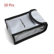 แบตเตอรี่ Lipo Safe กระเป๋ากระเป๋าป้องกันสำหรับ DJI Phantom 4 pro และ Phantom 4 PRO + V2.0 Phantom 3 lipo 10 Pcs