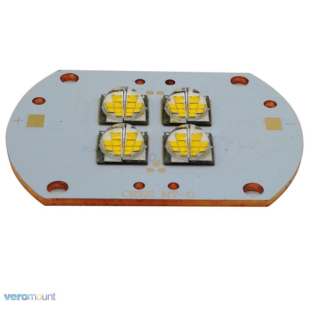 96W High Power CREE MTG MT-G EasyWhite Warm White 2700K 4LEDS 12V / 24V Led Emitter Bulb Lamp Light On Copper PCB Board