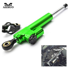 Motorcycle Damper Steering Stabilize Safety Control For BMW K13000 K12000 F800GS F650GS HP2  S1000RR KAWASAKI ZX9R ZX10R